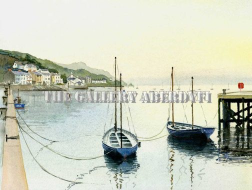 Cutters in the Dock, Aberdyfi