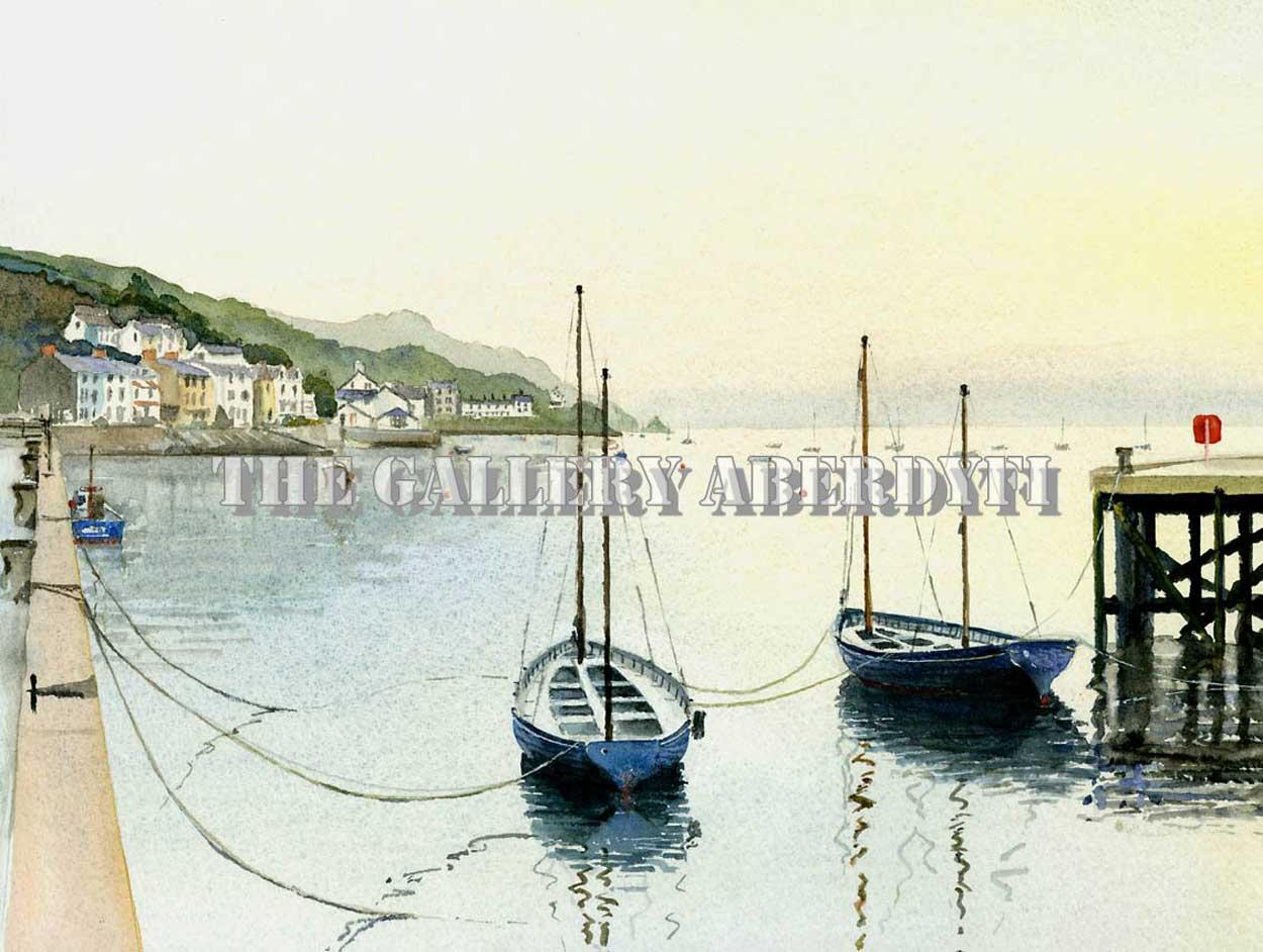 Cutters in the Dock, Aberdyfi