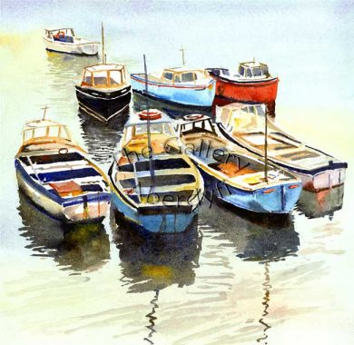 Eight Boats