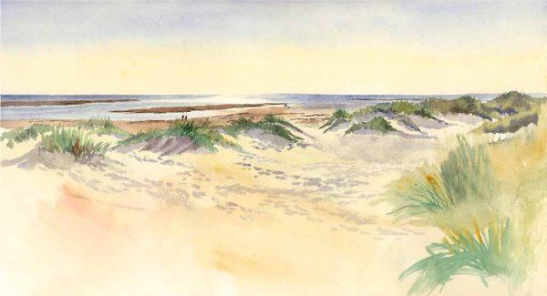 Quiet Day on the Beach, Aberdyfi