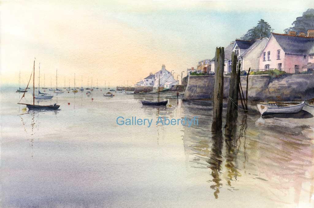 Aberdyfi from Penhelyg Harbour