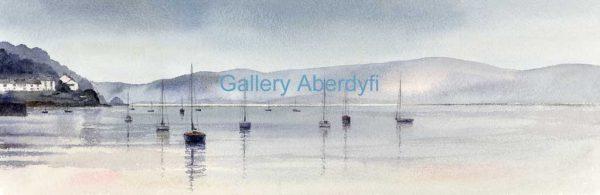 Morning Mist, Dyfi Estuary
