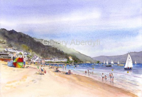 Summer Bathers – Aberdyfi