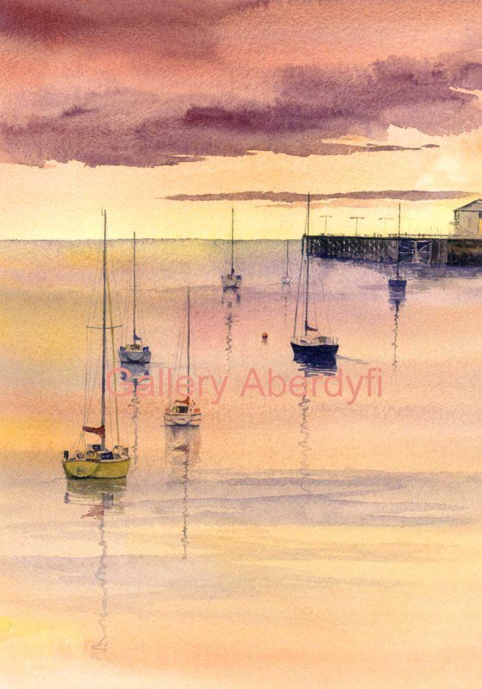 Sunset Dyfi Estuary