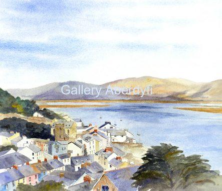 Aberdyfi from Pen y Bryn
