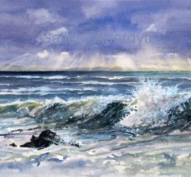 Shifting Light on a Stormy Sea