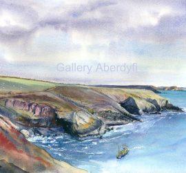 Fishing boat – Caer Bwdy Bay, St.Davids