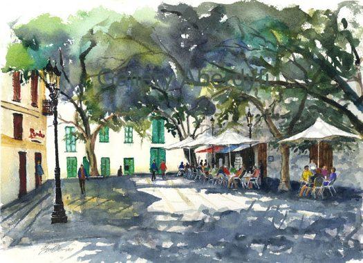 Haria Plaza – Lanzerote